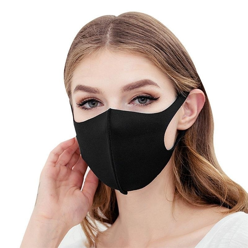 5/3/1Pcs Kid Adult Washable Earloop Mask Outdoor Cycling Anti Dust Mouth Face Mask Adult Kids Health Dustproof Anti-Dust Cold Prevention Mask