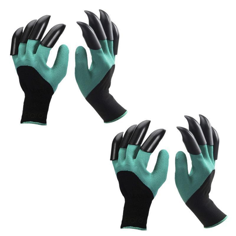 Waterproof and Breathable Garden Gloves for Digging Planting(2 Pairs)