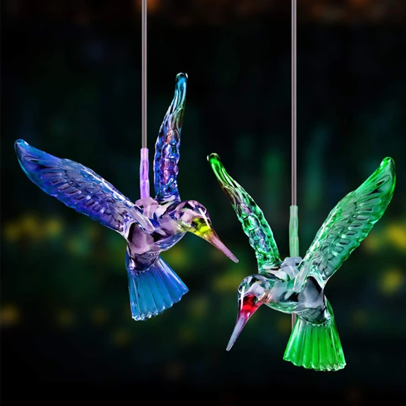 【2021 NEW YEAR DISCOUNT SALE】-Solar Powered Wind Chimes Lights