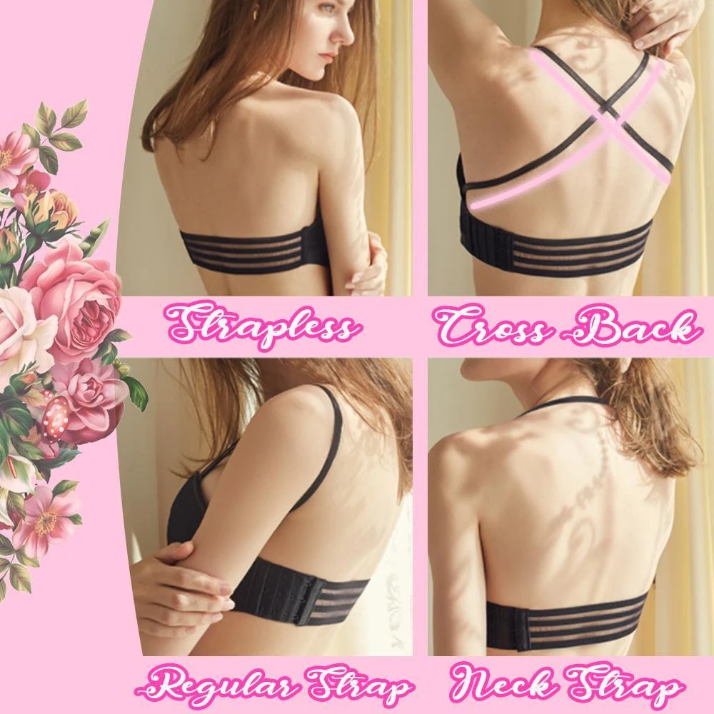 (Buy 2 Free Shipping)-Lace Strapless Bandeau