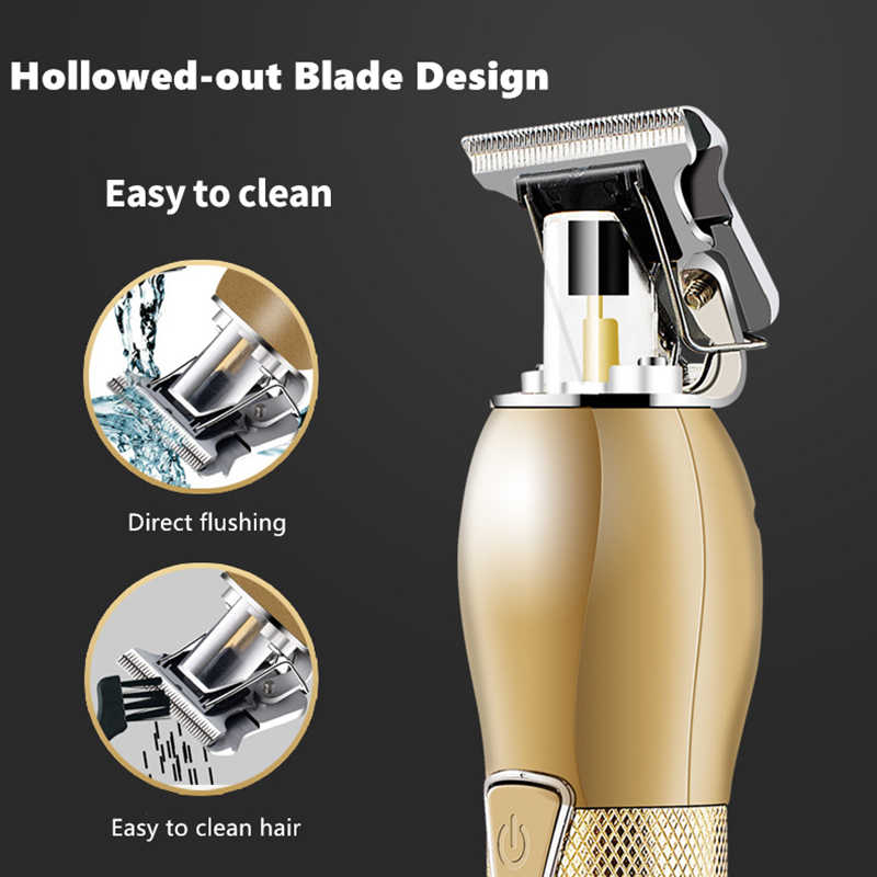 ❤️Summer Sale 50% OFF-2021 New Rechargeable T-blade Men's Hair Clipper