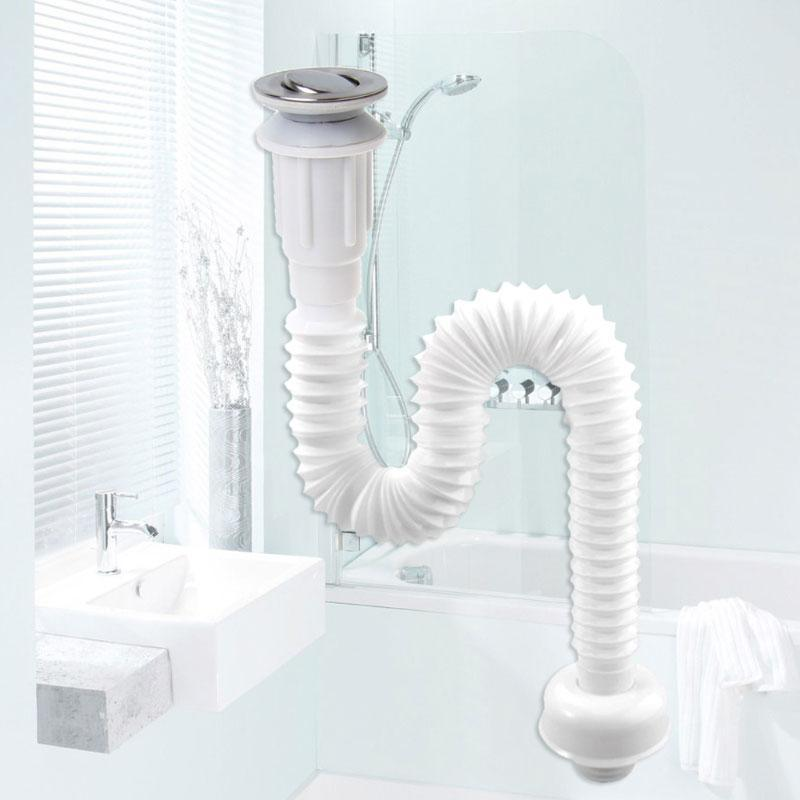 Expandable Flexible Odor-proof Sink Drain Filter Strainer