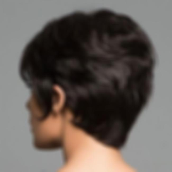 KAMI 010 Pixie Cropped Short Layered Straight Wig for Women Natural Looking Hair