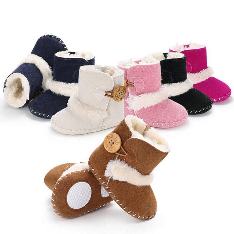 Newborn Kids Baby Girls Boy Snow Shoes