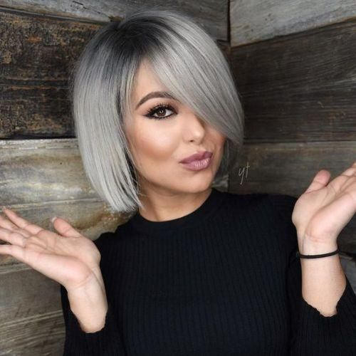 2020 New Gray Hair Wigs For African American Women Deep Wave Wig Wigs Europe A Few Grey Hairs Cheap Lace Front Wigs Under 20 Hair Wig For Men
