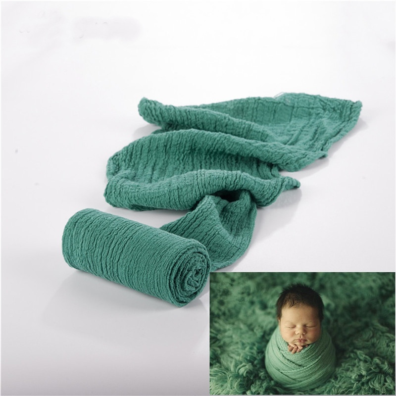 New Design Newborn Photography Props Wrap Baby Blanket Soft Stretchable Cotton Swaddling Photography Backdrop Babies Accessories