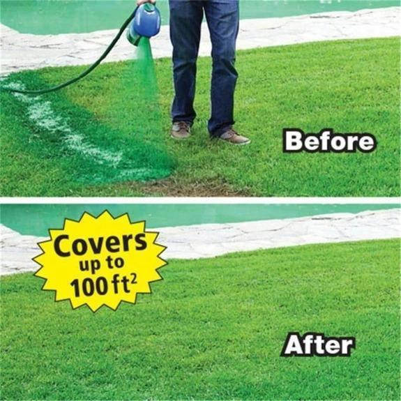 【ON SALE】Professional Flat Nozzle Spray Pot, With Green Grass Lawn Spray