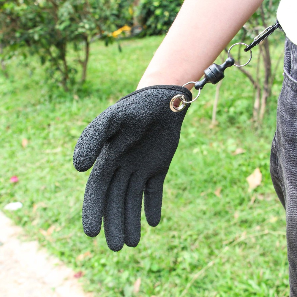 Quick Release Fishing Gloves - Protects Your Hands & No - Slippage!