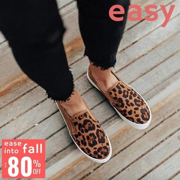 EASY Premium Orthopedic Leopard Loafer(Buy two free shipping)