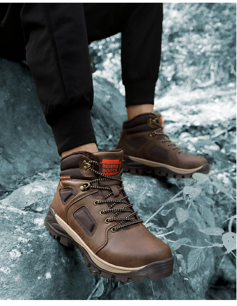 2020 HOT SUMMER SALE Ultra Warm Men's Waterproof Hiking Boot