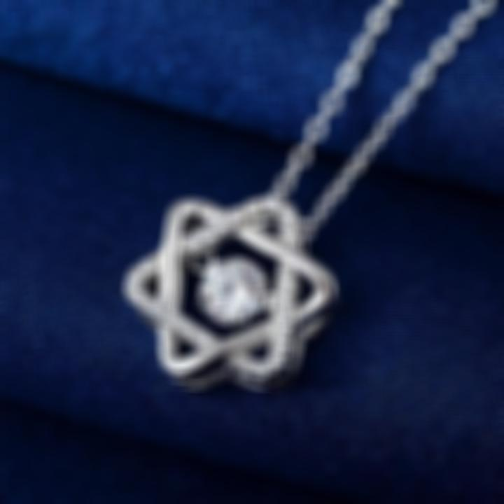 Twinkling Six-pointed Star Necklace - 【Buy One Get One Free 】