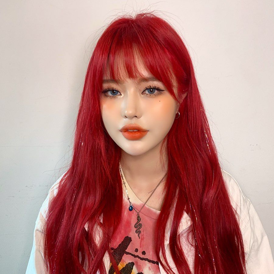 Red Wigs Lace Front Lemonade Hairstyle Fire Engine Red Hair Long Bob Haircut 2019 Crew Cut Low Fade Hairstyle Girls Simple Curly Hairstyles For Men