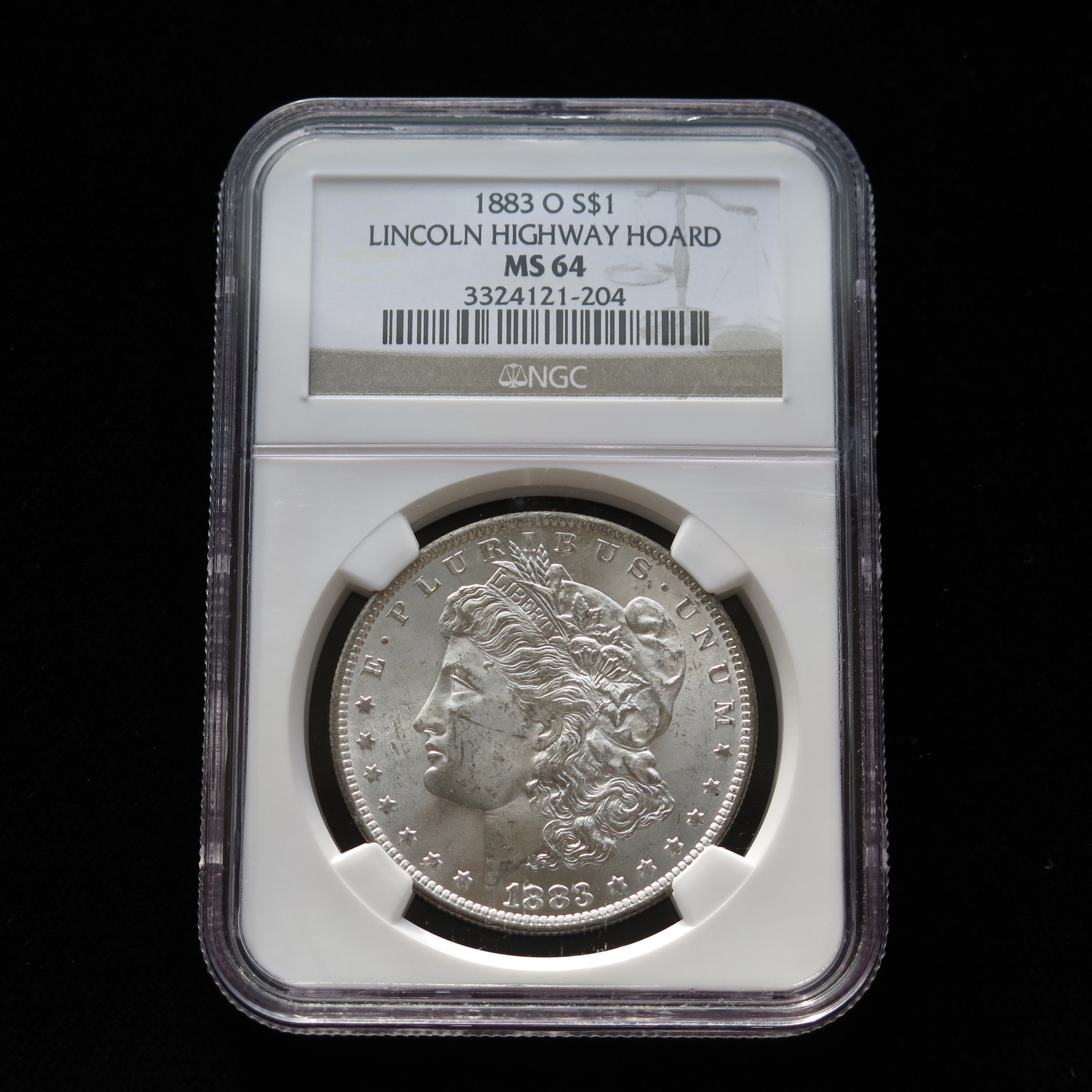 【Limited sale!!!】 1883 CC Morgan Dollar MS-64 NGC