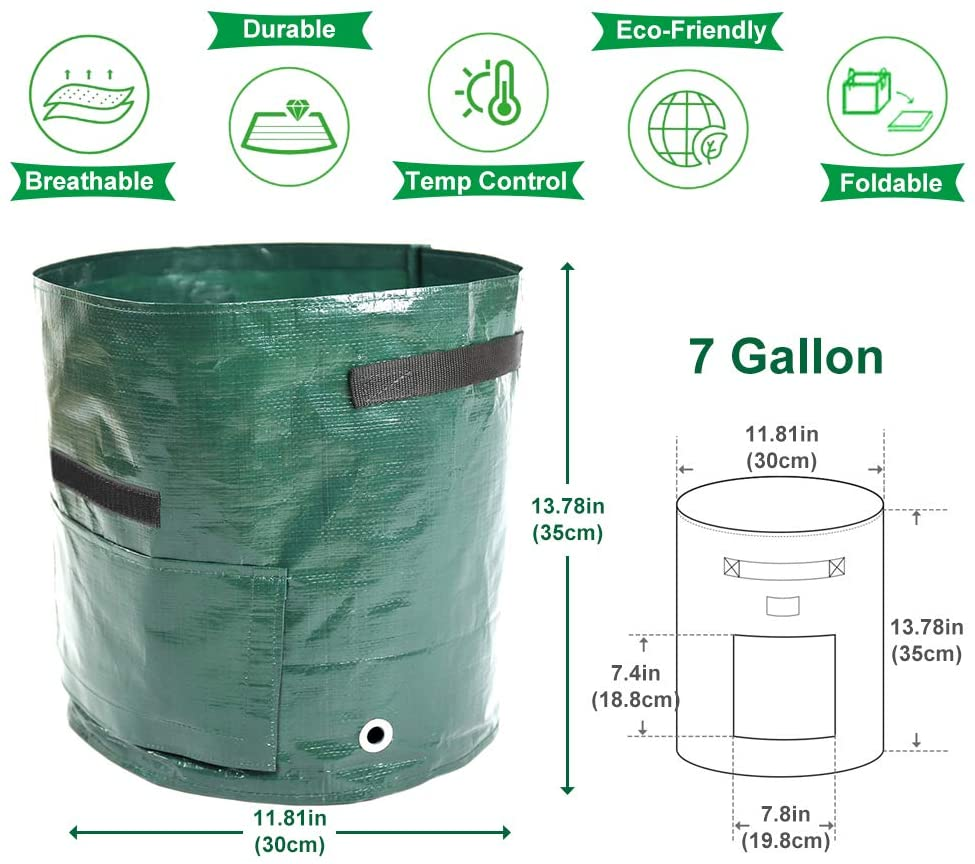 50L Potato Grow Large Capacity Planter  Container Bag- (Buy 5 Get 3 Free + Free Shipping)