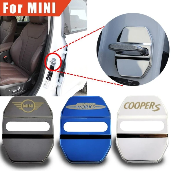 Protective cover for door lock for car brands (A set of 4 pieces)