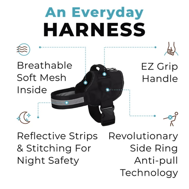 2020 Newest Version -The Best Dog Harness In The World(Last Day Promotion&50% OFF)