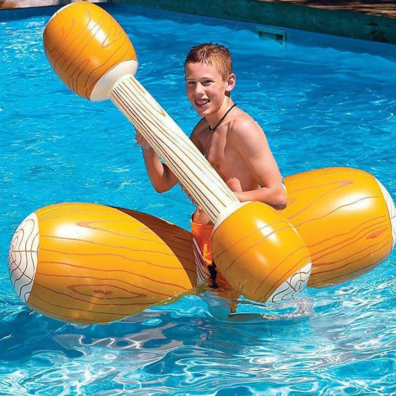 4 Pieces Pool Float Toy Water Game Swim Ring