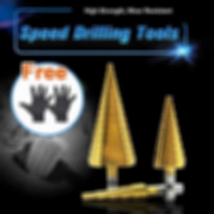 (Get a free pair of gloves which )Speed Drilling Tools (3pcs)