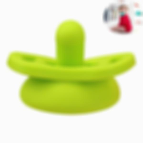Silicone Nipple Feeder Flexible Pacifier Cleaner Funny Sotther Pacifiers Food Grade Soft Silicone for Newborn Baby Infant with Storage Box