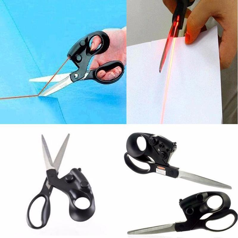 Straight Fast Laser Guided Scissors for Sewing/Craft