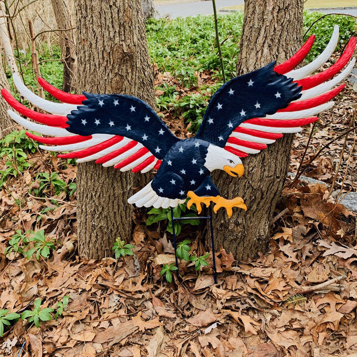 🤩Independence Day Promotion💥American Eagle Garden Decoration