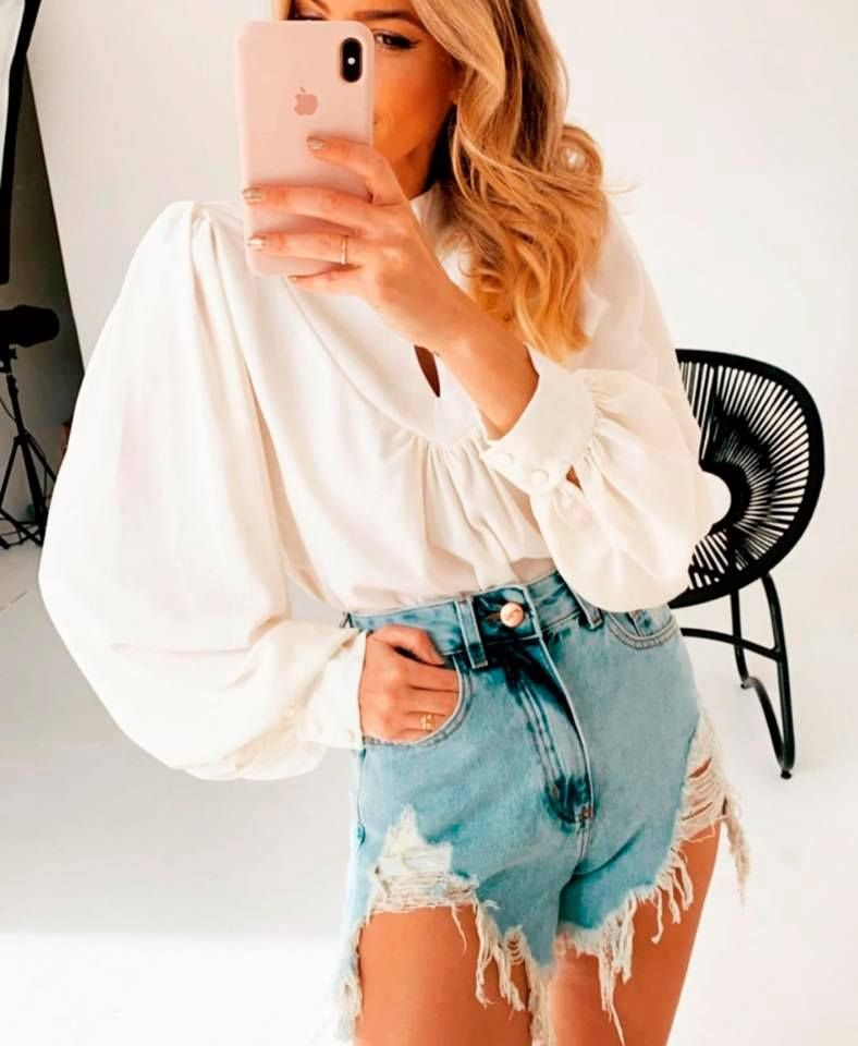 Short Jeans For Women Short Crop Tops Bermuda Shorts Ladies Loose High Waisted Jean Shorts
