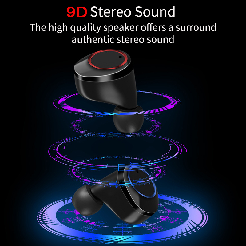 【50% OFF TODAY】🥳The Strongest Touch Control Wireless Earbuds