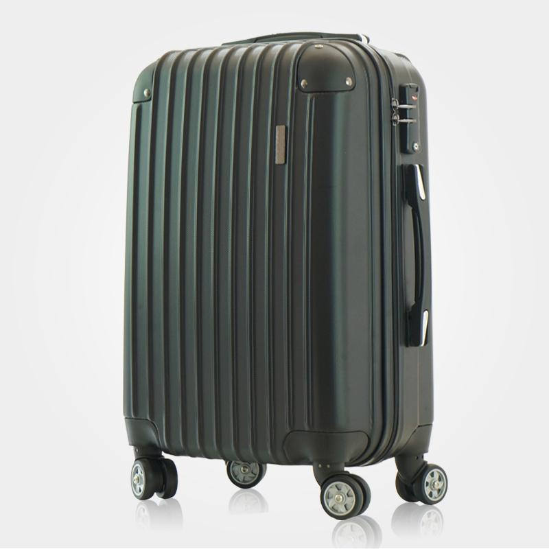 Custom LOGO Aluminum trolley 20 inch  carry on ABS luggage case roller bag-1.9