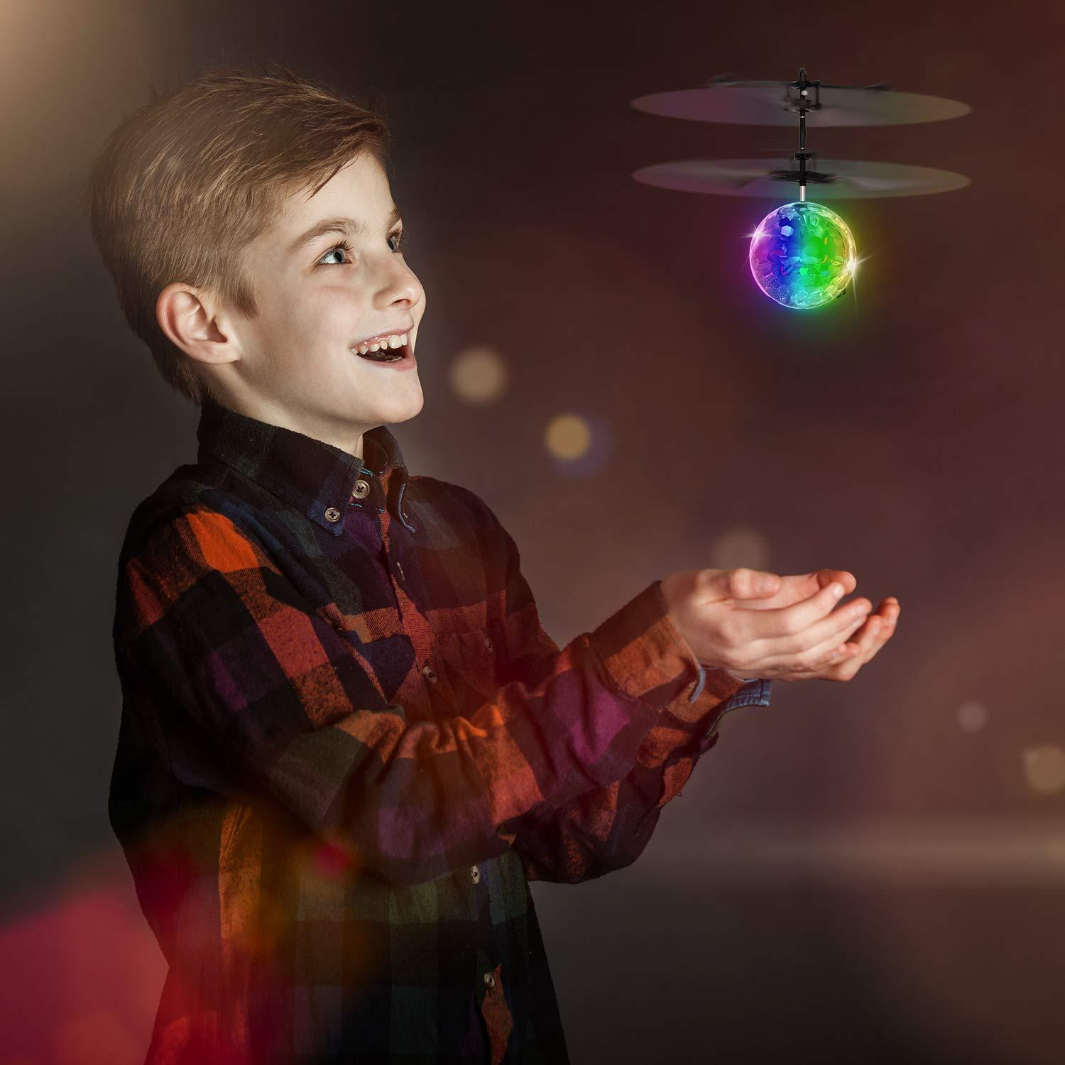 Color flying drone