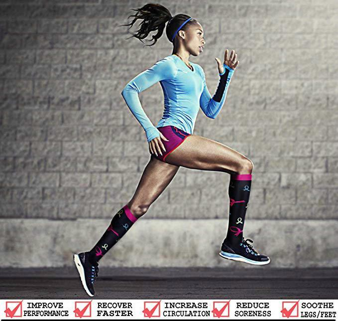 {FREE SHIPPING} Compression Socks (7/8 Pairs) for Women & Men