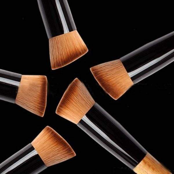 Makeup Powder Blush Face Cheek Flat Contour Brush Foundation Cosmetic Tool