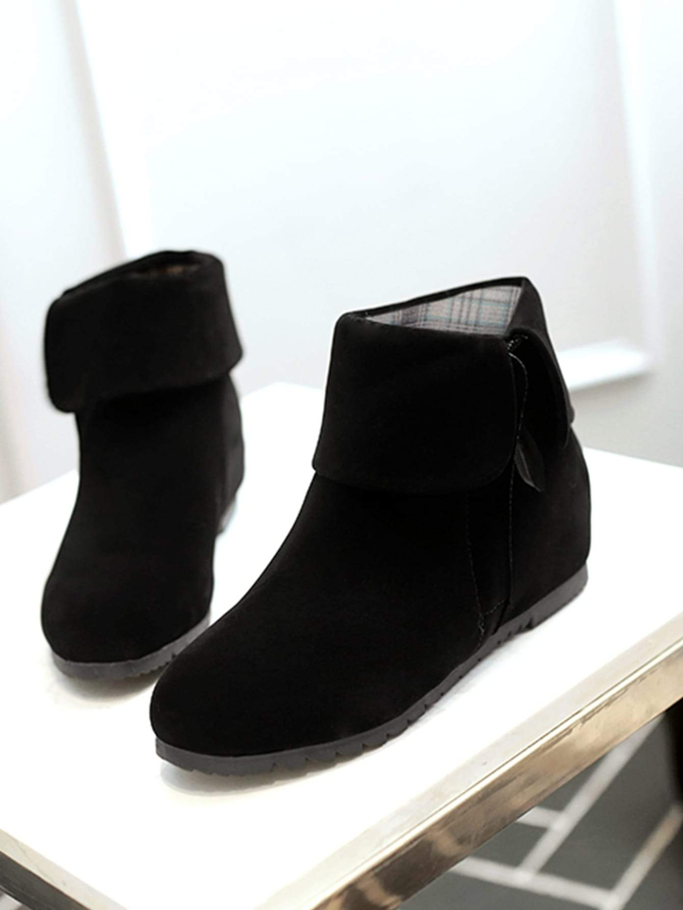 Side Zip Non Slip Boots