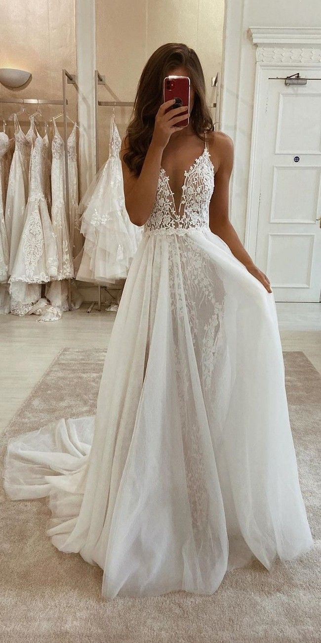2020 New Fashion Dress Wedding Dresses White Satin Dress Wholesale Wedding Dresses Champagne Maxi Dress White Long Sleeve Formal Dress