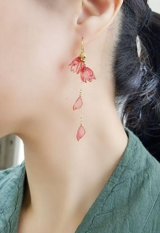 Earrings For Women 2775 Fashion Jewelry Apara Fashion Jewellery Rock Earrings Style Front And Back Earrings Red Stud Earrings For Women Citrine Jewelry