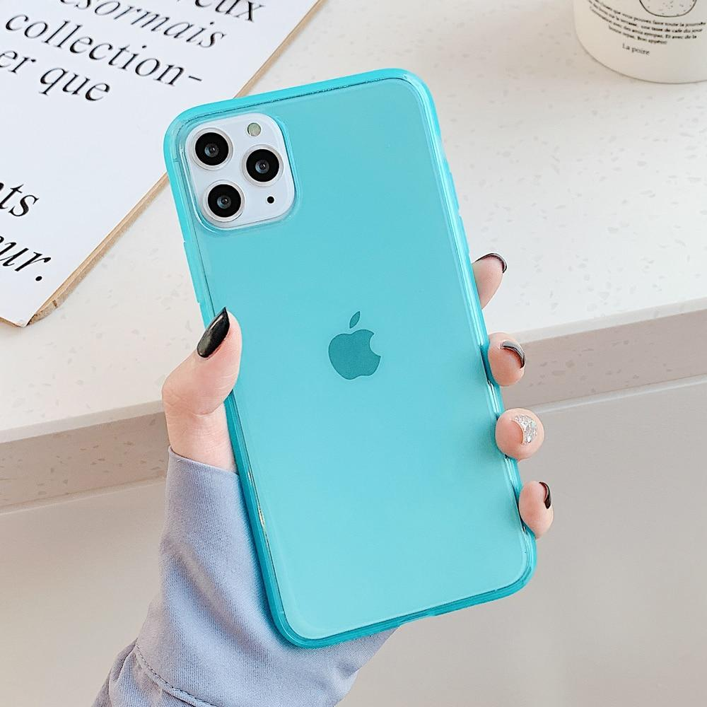Clear Candy Color Case