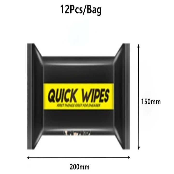 (🔥EARLY-CHRISTMAS HOT SALE-50%OFF)Shoe Quick Wipes