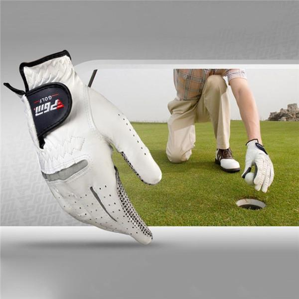 Men's soft and breathable pure sheepskin golf gloves(BUY 2 FREE SHIPPING!!! )