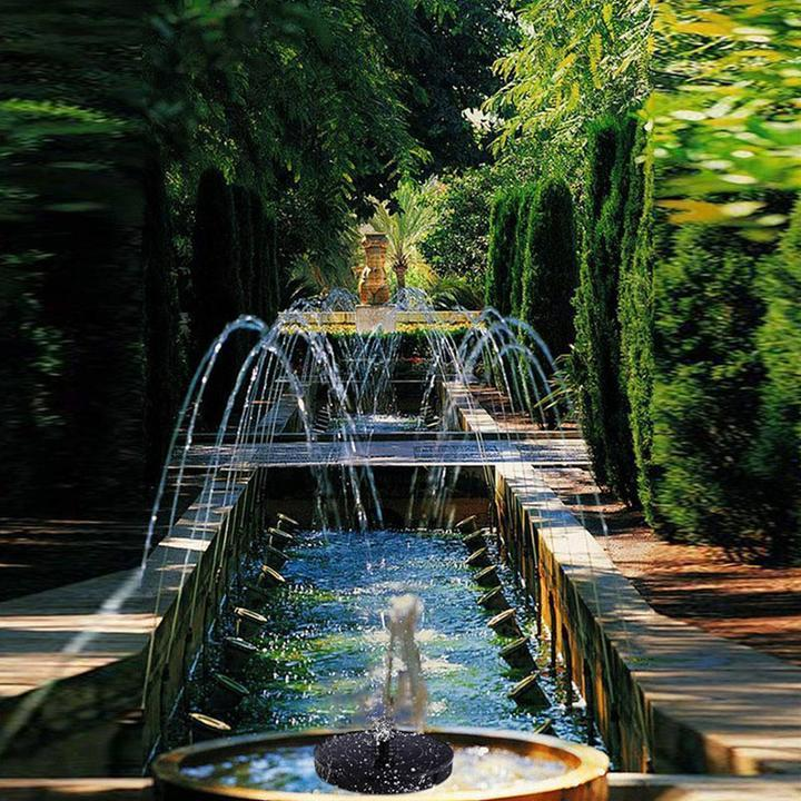 Only!-Spring Solar Powered Bionic Fountain(Buy 2 Free Shipping)