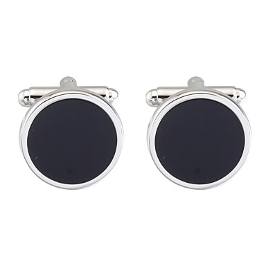 Cufflinks Asian Vintage Brooch Jewelry Black For Daily Formal