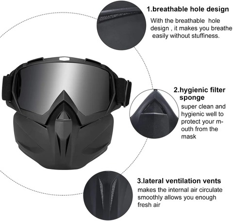 Motorcycle Mask Goggles
