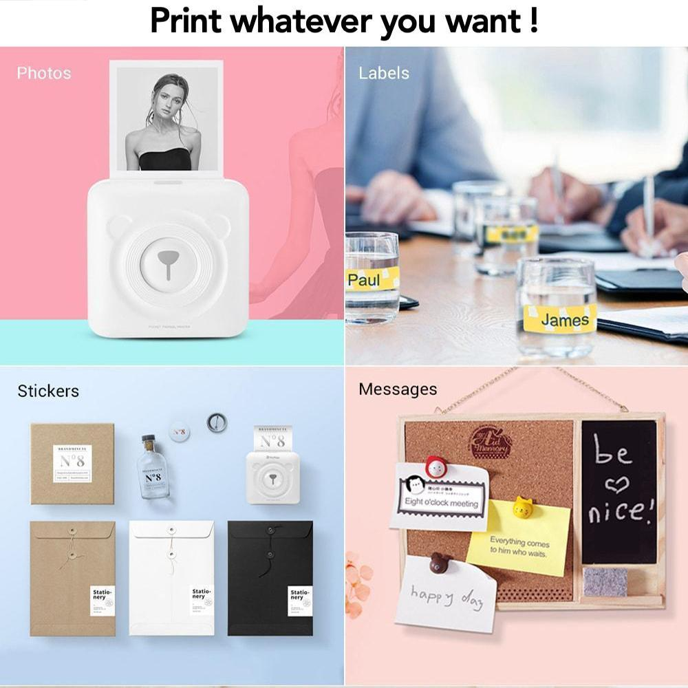 Father's Day Hot Sales!-Portable Photo Printer