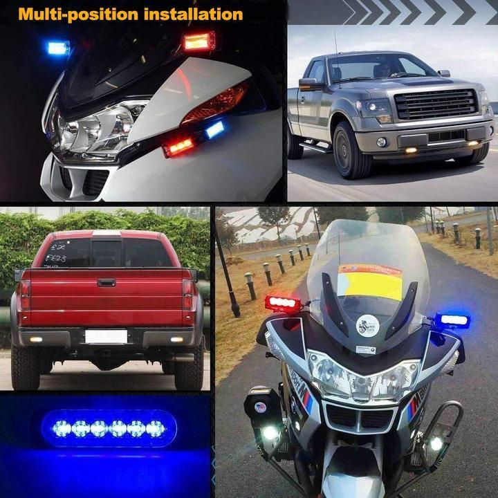 【Factory Outlet - SAVE 50% OFF】Car Flexible Warning Strobe/Work Light-Waterproof And Easy To Install
