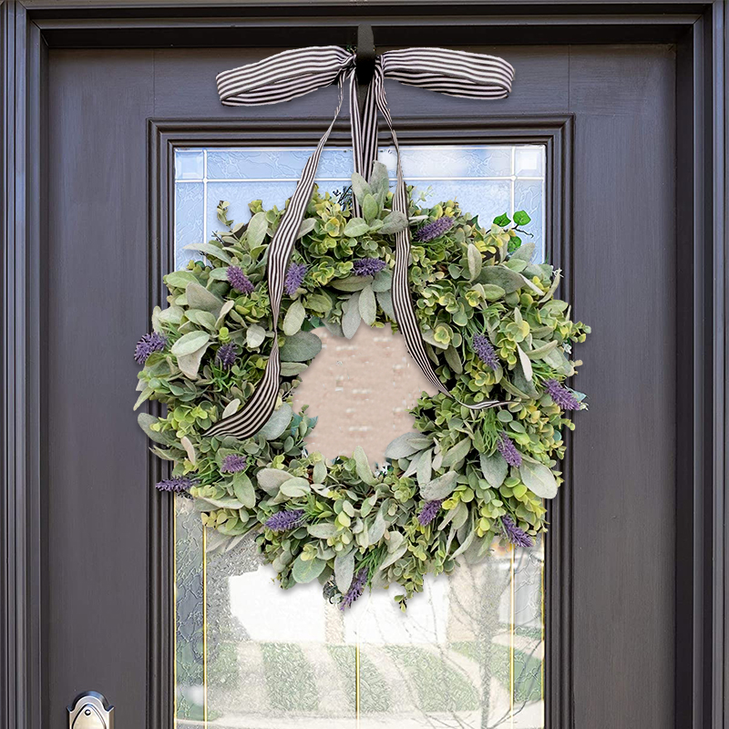 Eucalyptus and Lavender Wreath(Made in USA )