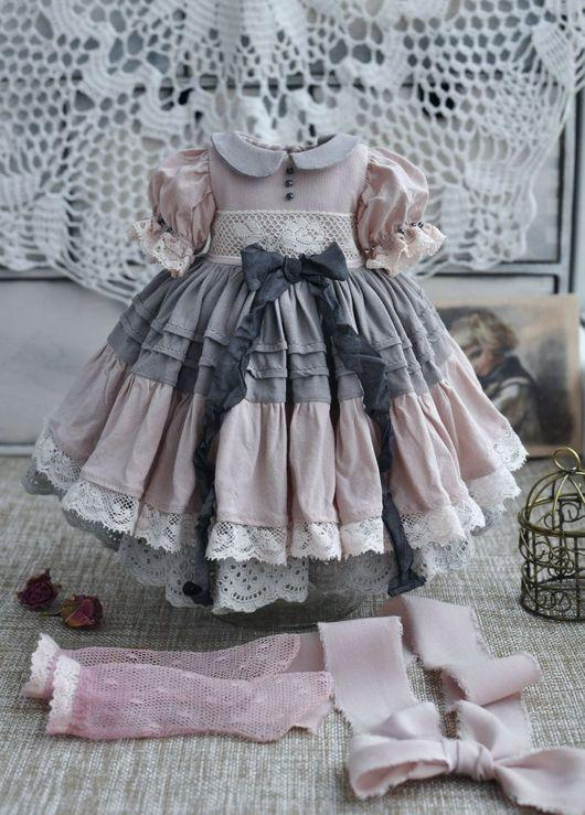 👧👧Little Darling Dianna Effner Doll with dress💝Lolita Style#Doll clothing spree 1