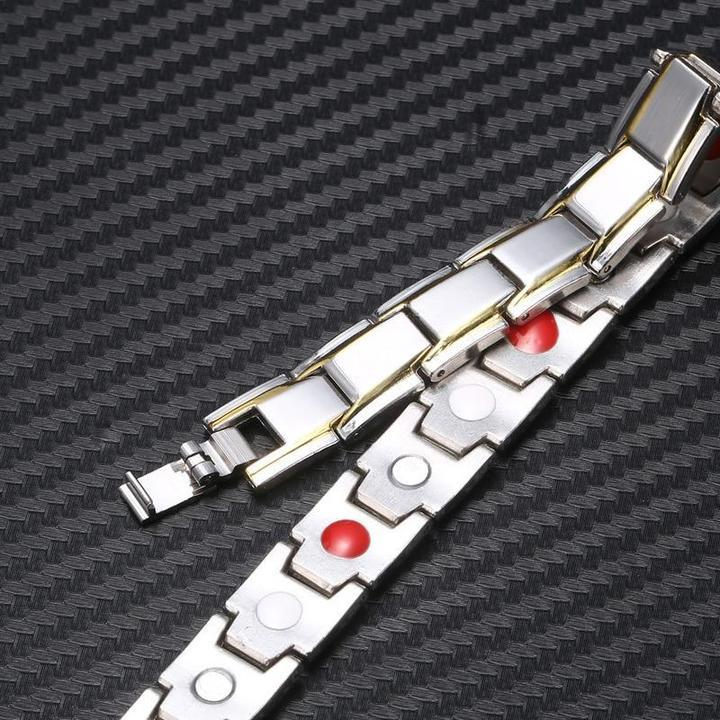Arosetop (About 8.66 inch) Magnetic Therapeutic Energy Bracelet