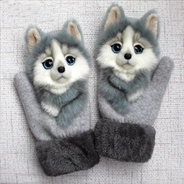 Animal mittens - daughter gift from mom (Buy 2 Get Free Shipping)