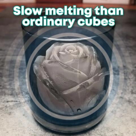 3D Silicone Rose Shape Ice Cube Mold (🔥Clearance Sale - 63% OFF)