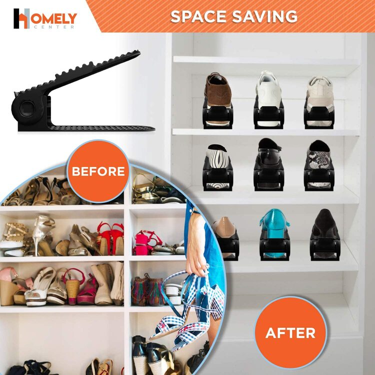 Double Deck Shoe Rack Holder (Only $2.99 Buy 15 Free Shipping)