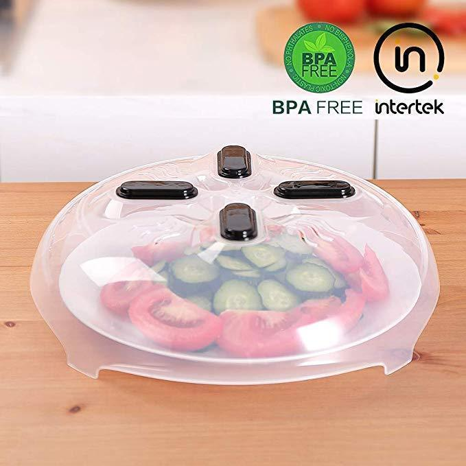 (60% off and Buy 2 Free Shipping) Food-grade material-Anti-sputter microwave plate cover with Magnetic