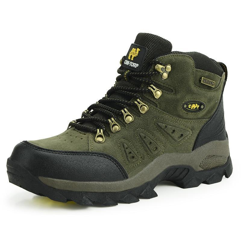 High Cut Breathable Men Women Outdoor Rubber Boots Trekking Shoes Mountain Climbing Sneakers